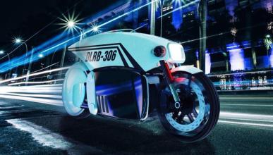 La moto de Policía que te va a freír a multas...