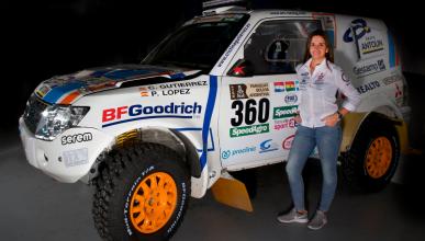 Dakar 2017: Cristina Gutiérrez cumple un sueño