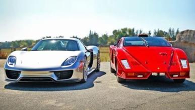 Vídeo: Porsche 918 Spyder vs Ferrari Enzo (o casi)