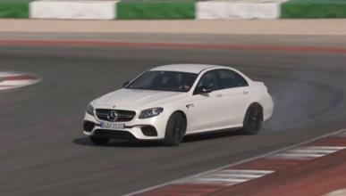 Así es el modo drift del Mercedes-AMG E63 S