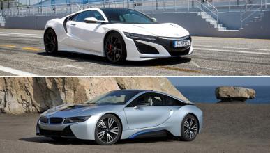 ¿Cuál es mejor, Honda NSX o BMW i8?