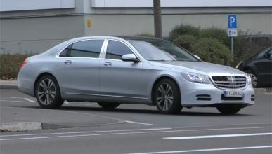 Mercedes-Maybach Clase S 2017: primeras imágenes espía