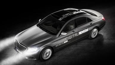 Digital Light, la tecnología de iluminación de Mercedes