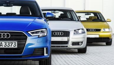 Modelos icónicos: tres generaciones del Audi A3
