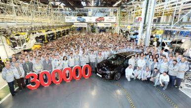 Récord de producción en la planta palentina de Renault