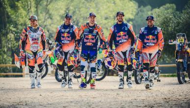 Dakar 2017: el equipo con el que KTM quiere volver a ganar