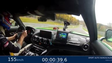 Vídeo: brutal vuelta del Mercedes-AMG GT R en Nürburgring