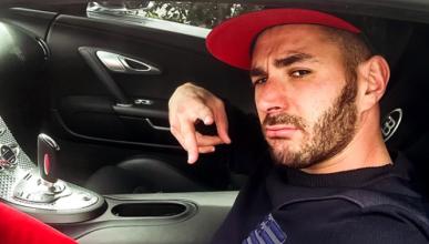 Multa de tráfico para Karim Benzema (y van cinco)