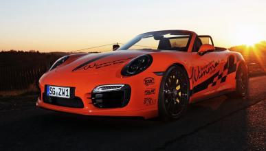 Porsche 911 Turbo S Cabriolet Wimmer