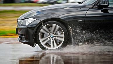 Las importancia de los neumáticos en días de lluvia