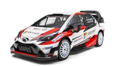 WRC 2017: Toyota  presenta el Yaris WRC y anuncia a Latvala