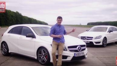 Mercedes-AMG Drag Race: A45 VS CLS63 Shooting Brake