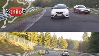 Vídeo: El peligro del aceite en Nürburgring