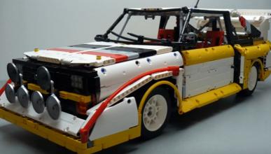 Vídeo:  Audi Sport Quattro  S1... ¡versión Lego!