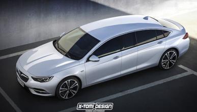 Así sería el Opel Insignia si fuese una limusina