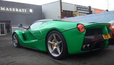 El Ferrari LaFerrari de Jay Kay rodando en silencio
