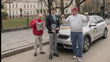 Récord Guinness: el coche híbrido que menos consume