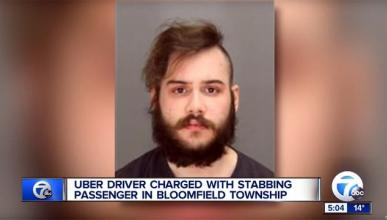 Un conductor de Uber acusado de apuñalar a un hombre