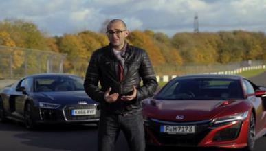 Honda NSX VS Audi R8 V10, ¿con cuál te quedas?