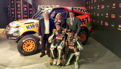 Isidre Esteve, preparado para el Dakar 2017
