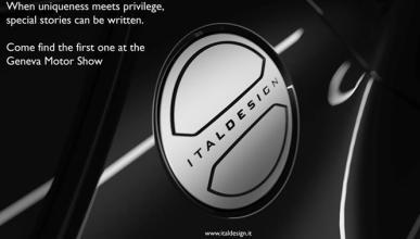 Italdesign mostrará un nuevo prototipo en Ginebra