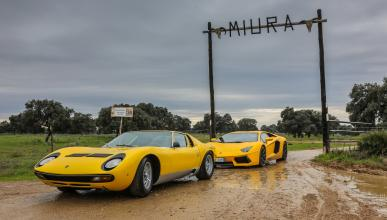 El Lamborghini Miura, de ruta por España