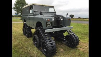 Venta Land Rover Defender Orugas