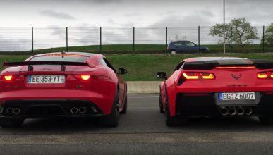 Duelo de voces: Jaguar F-Type SVR vs Corvette Z06