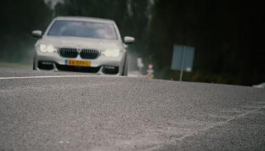 Vídeo: el BMW 750Ld xDrive, ¡a 200 km/h!