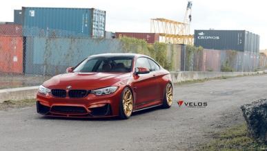 BMW M4 con llantas Velos
