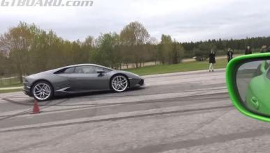 Vídeo: Lamborghini Huracán vs Toyota Supra de 1.000 CV