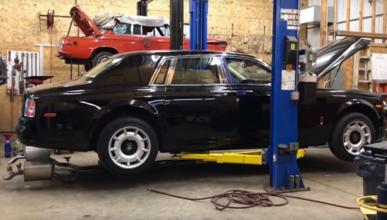 Vídeo: así suena un Rolls-Royce a escape libre