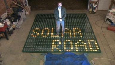 La primera carretera solar del mundo ya está en marcha