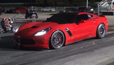 Vídeo: así acelera un Corvette C7 manual de 1.000 CV