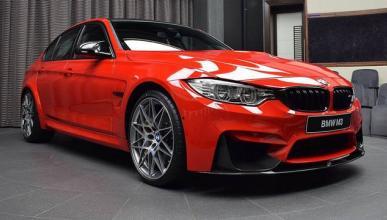 BMW M3 rojo Ferrari
