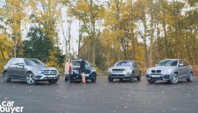 Vídeo: Mercedes GLC vs F-Pace vs Discovery Sport vs BMW X3