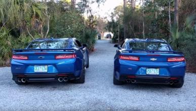 ¿Cuál suena mejor, el Camaro ZL1 o el Camaro SS?