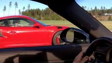 ¿Puede un Porsche 911 GT3 RS con un 911 Turbo S?