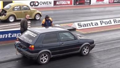 Vídeo: así de brutal es un Volkswagen Golf GTI con 1.300 CV