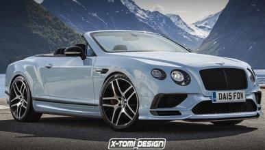 Bentley Continental Supersports Convertible, así podría ser
