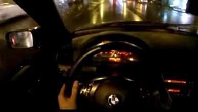Vídeo: Haciendo drift por las calles de Georgia en su BMW