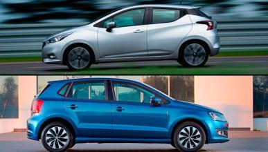 ¿Cuál es mejor, Nissan Micra 2017 o Volkswagen Polo?