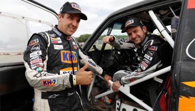 Isidre Esteve llega a la meta del Dakar 2017
