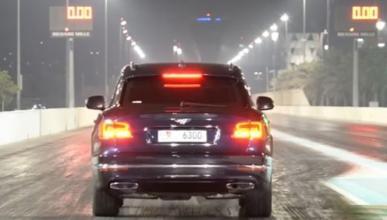 Vídeo: así ataca el Bentley Bentayga al 1/4 de milla