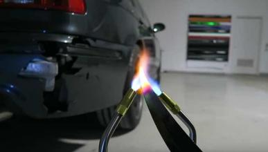 Vídeo: un cuchillo a 1.000ºC vs. BMW M5 E39