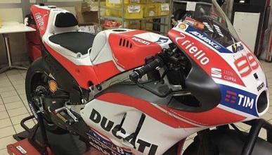 Filtrada una foto con la Ducati GP17 de Jorge Lorenzo
