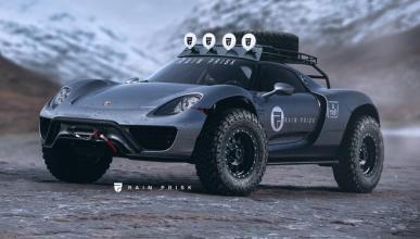 ¿Un Porsche 918 Spyder convertido en todoterreno extremo?
