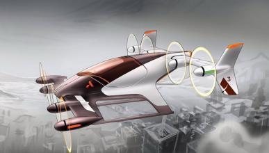 Airbus prototipo coche volador