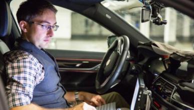 Amazon patenta un sistema que comunica al coche con la vía
