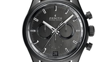 Zenith y Range Rover celebran su trayectoria con este reloj